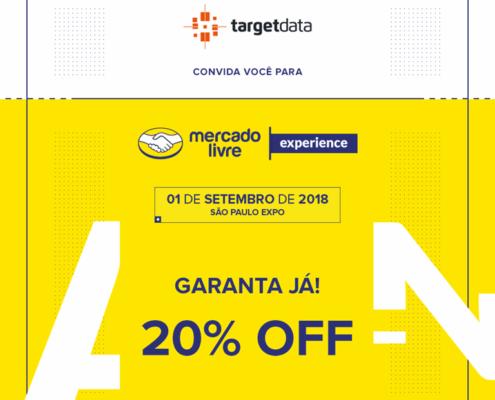 TargetData é apoiadora oficial do Mercado Livre Experience 2018